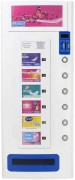 Electronic Condom Vending Machine 6 Column White